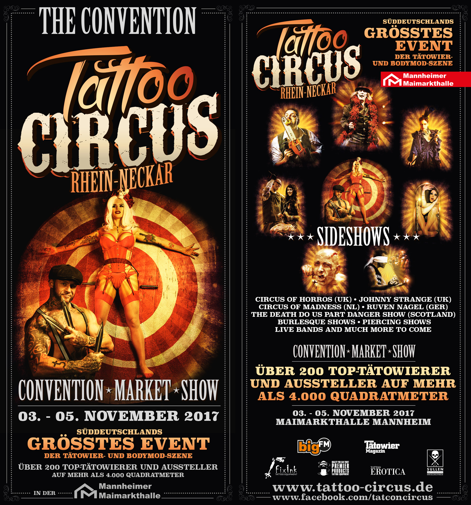Tattoo Circus Flyer